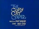 The Copy Cat Caper Cartoon Picture