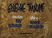 Gruesome Twosome Pictures Cartoons