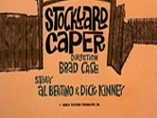 Stockyard Caper Cartoon Picture