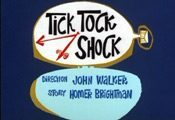 Tick Tock Shock Cartoon Character Picture