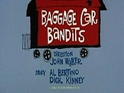 Baggage Car Bandits Cartoon Picture