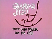 Grandma Jitsu Cartoon Picture