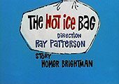 The Hot Ice Bag Cartoon Character Picture