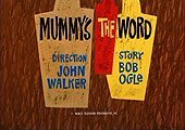 Mummy's The Word Pictures Cartoons