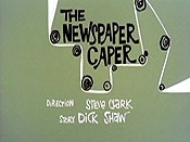 The Newspaper Caper Cartoons Picture