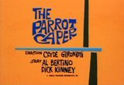 The Parrot Caper Cartoon Picture