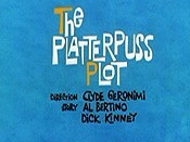 The Platterpuss Plot Cartoon Picture