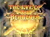 The Eye Of The Beholder Cartoon Character Picture