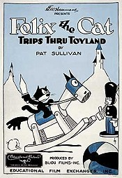 Felix Trips Thru Toyland Picture Into Cartoon