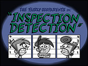 Inspection Detection Picture Into Cartoon