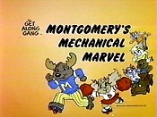 Montgomery's Mechanical Marvel Cartoon Picture