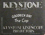 Goodrich Dirt The Cop Cartoon Picture