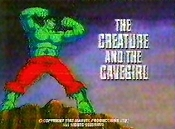 The Creature And The Cavegirl Cartoon Picture