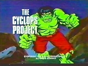 The Cyclops Project Free Cartoon Picture
