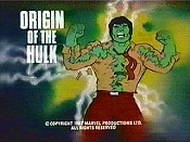 The Origin Of The Hulk Cartoon Picture