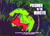 Prisoner Of The Monster Free Cartoon Picture