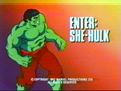 Enter: The She-Hulk Cartoon Picture