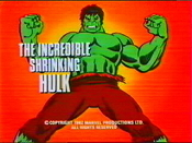 The Incredible Shrinking Hulk Cartoon Picture