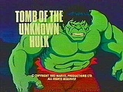 Tomb Of The Unknown Hulk Free Cartoon Picture