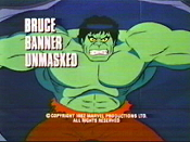 Bruce Banner, Unmasked! Free Cartoon Picture