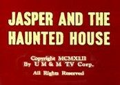 Jasper And The Haunted House Cartoon Picture