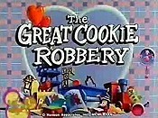 The Great Cookie Robbery Cartoon Character Picture