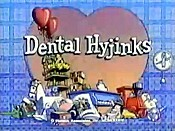 Dental Hijinks Cartoon Character Picture