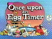 Once Upon An Egg Timer Picture Of Cartoon