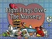Eight Flags Over My Nanny Free Cartoon Picture
