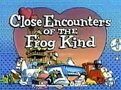 Close Encounters Of The Frog Kind Picture Of Cartoon