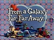 From A Galaxy Far, Far Away Cartoon Character Picture