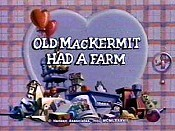Old MacKermit Had A Farm Picture Of Cartoon