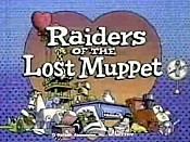 Raiders Of The Lost Muppet Cartoon Picture
