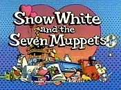 Snow White And The Seven Muppets The Cartoon Pictures