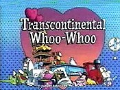 Transcontinental Whoo-Whoo Cartoon Funny Pictures