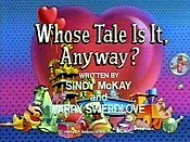 Whose Tale is it Anyway?