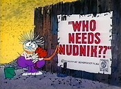 Who Needs Nudnik? Cartoon Picture