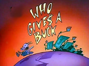 Who Gives A Buck Picture To Cartoon