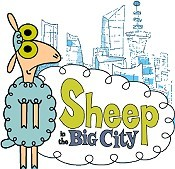 Some Pun on the Word Sheep! Cartoon Picture