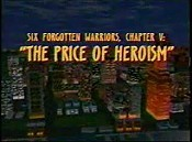 Six Forgotten Warriors, Chapter V: The Price Of Heroism Picture Of The Cartoon