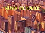 Kraven The Hunter Cartoon Picture