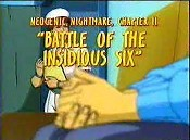 Neogenic Nightmare, Chapter II: Battle Of The Insidious Six Cartoons Picture
