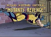 Neogenic Nightmare, Chapter V: Mutants' Revenge Cartoon Picture