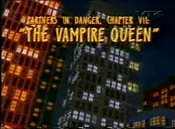 Partners In Danger, Chapter VII: The Vampire Queen Picture Of The Cartoon