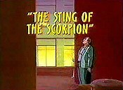 The Sting Of The Scorpion Cartoon Picture