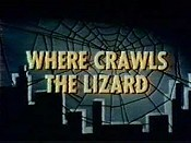 Where Crawls The Lizard Cartoon Picture