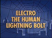 Electro The Human Lightning Bolt Cartoon Picture