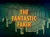 The Fantastic Fakir Cartoon Picture