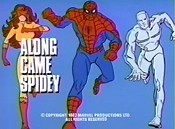 Along Came Spidey Free Cartoon Picture