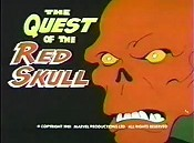 The Quest Of The Red Skull Cartoon Picture